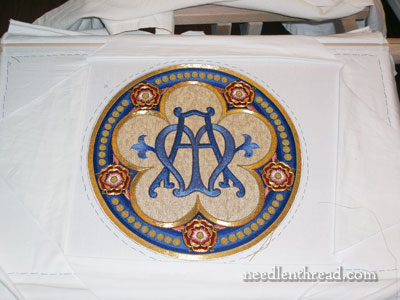 Goldwork & Silk Ecclesiastical Embroidery