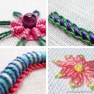 Embroidery Topics on Needle 'n Thread