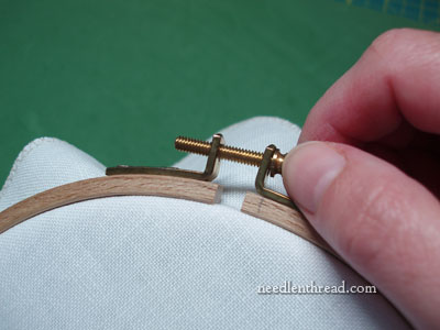 Setting Up an Embroidery Hoop