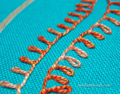 Stitch Play: Mirror Embroidery Stitches