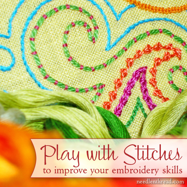 Play with Embroidery Stitches
