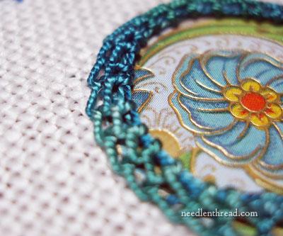 Shisha Stitch with Paper