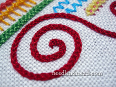 Hungarian Braided Chain Stitch Video
