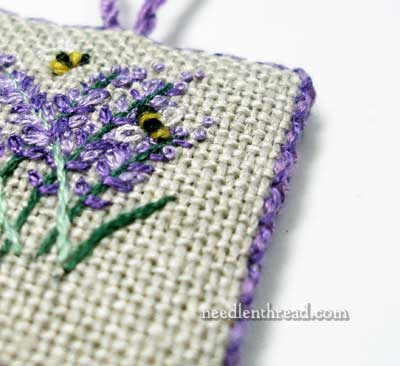 Lavender Honey Embroidery