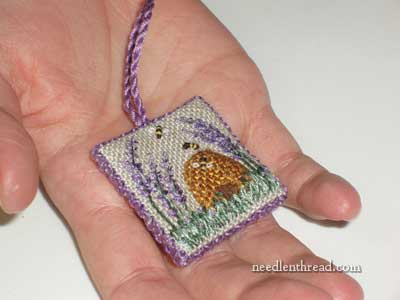 Lavender Honey: Hand Embroidered Little Thing