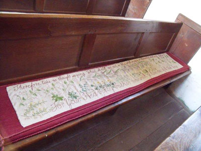 Brockhampton Church Embroideries - Church of All Saints