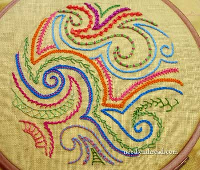 Embroidery Stitch Samplers
