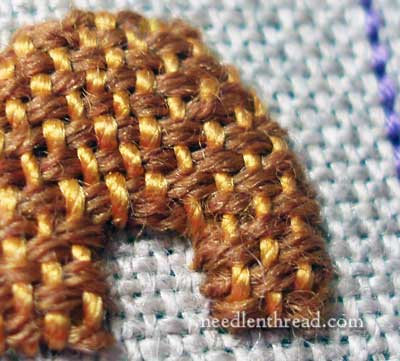 Wool Thread and Silk Thread in Embroidery