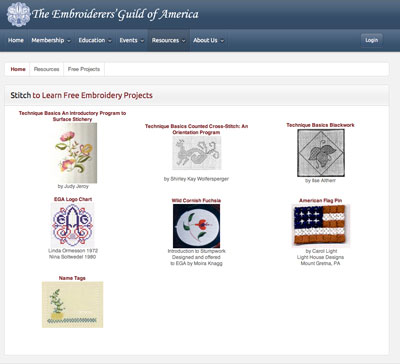 Embroiderer's Guild of America