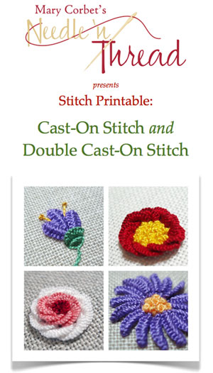Cast-On Stitch and Double Cast-On Stitch