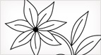 Simple Flower Embroidery Pattern