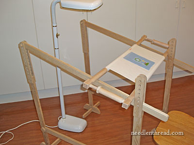 Trestles for Large Embroidery Frames
