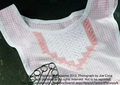 Gingham Lace, Depression Lace, Snowflake Lace, Chicken Scratch Embroidery