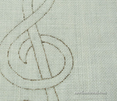 Transferring Embroidery Design to Fabric