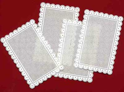 Embroidery on Perforated Paper