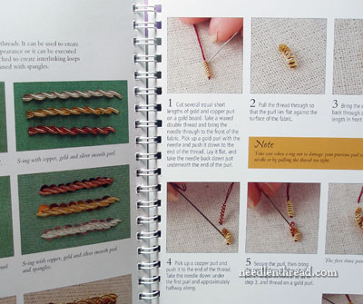 RSN Stitch Guide: Goldwork