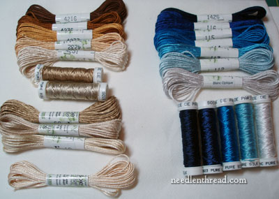 Scintillating Silk Embroidery Threads  NeedlenThread
