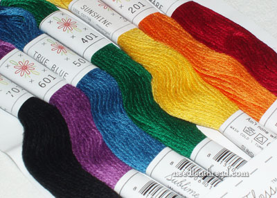Sublime Stitch Color Palettes Embroidery Floss