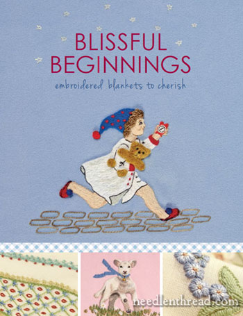 Blissful Beginnings Embroidered Blankets