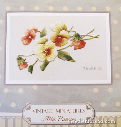 Miniature Needlepainting Kits Trish Burr