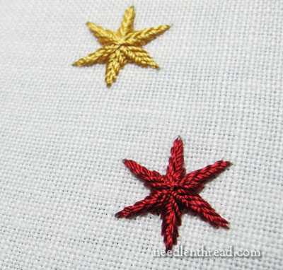 Star Stitch Embroidery Stitch
