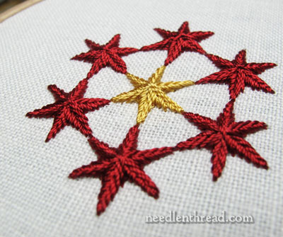 Stitch Play: Star Stitch Samples