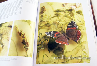 Art of Embroidered Butterflies by Jane Hall