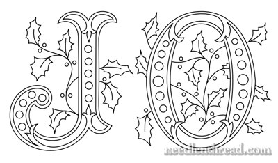 Joy 2 – Using Monograms to Develop an Embroidery Design ...