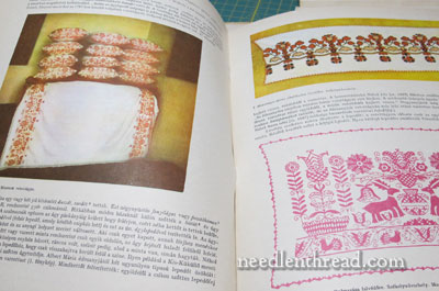Hungarian Embroidery Pattern Book
