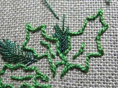 Stitch Play: Embroidered Greenery