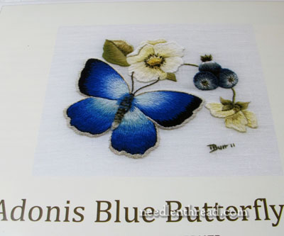 Butterfly Embroidery Kit by Trish Burr