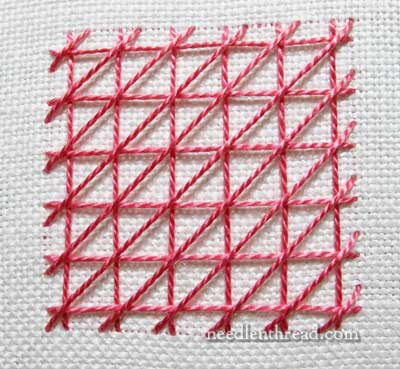 Griffin Stitch Lattice Filling
