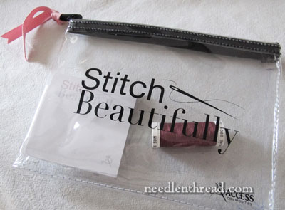Stitch Beautifully Zipper Bag