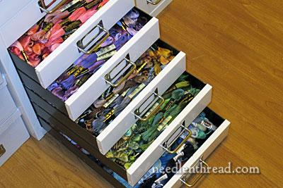 Embroidery Thread Organization Amp Reminders