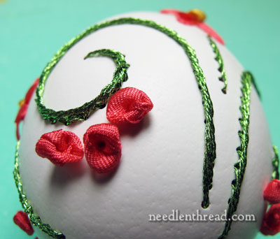 Embroidery in Eggs