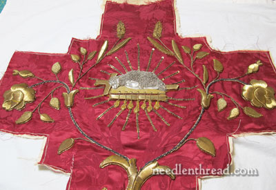 Goldwork Embroidery Examination