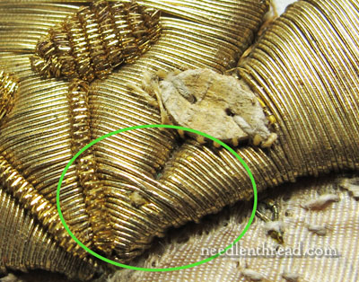 Goldwork Embroidery - Deconstructing Goldwork