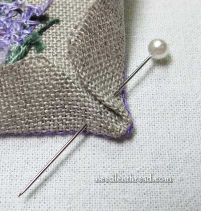 Little Things: Embroidering and Finishing
