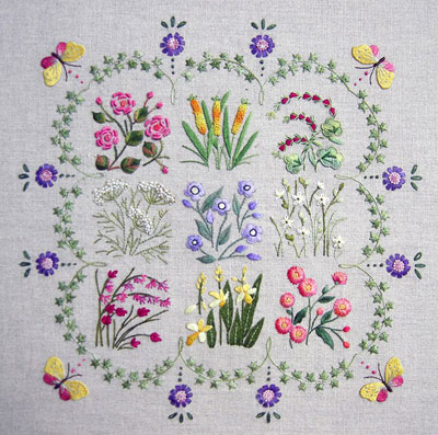 Pretty Surface Embroidery Kits Perfect For Learning