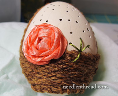 Embroidered Eggs - Stitches