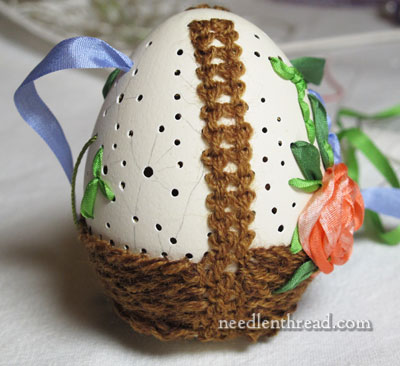 Embroidery on Eggs