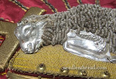 Goldwork Embroidery: Agnus Dei