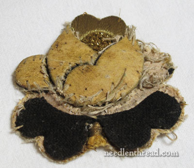 Goldwork Rose