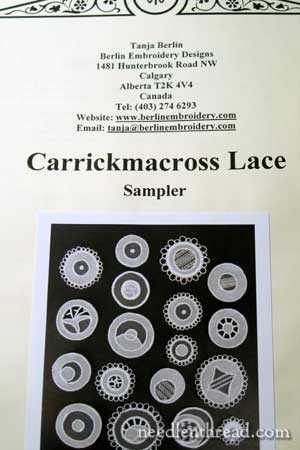 Carrickmacross Lace Kit & Instructions