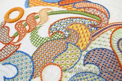 Stitch Fun: Lattice Work Embroidery Sampler