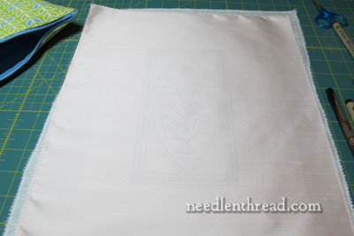 Mission Rose Embroidery Project: Silk & Goldwork