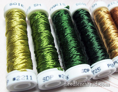 Soie de Paris Filament Silk Embroidery Threads