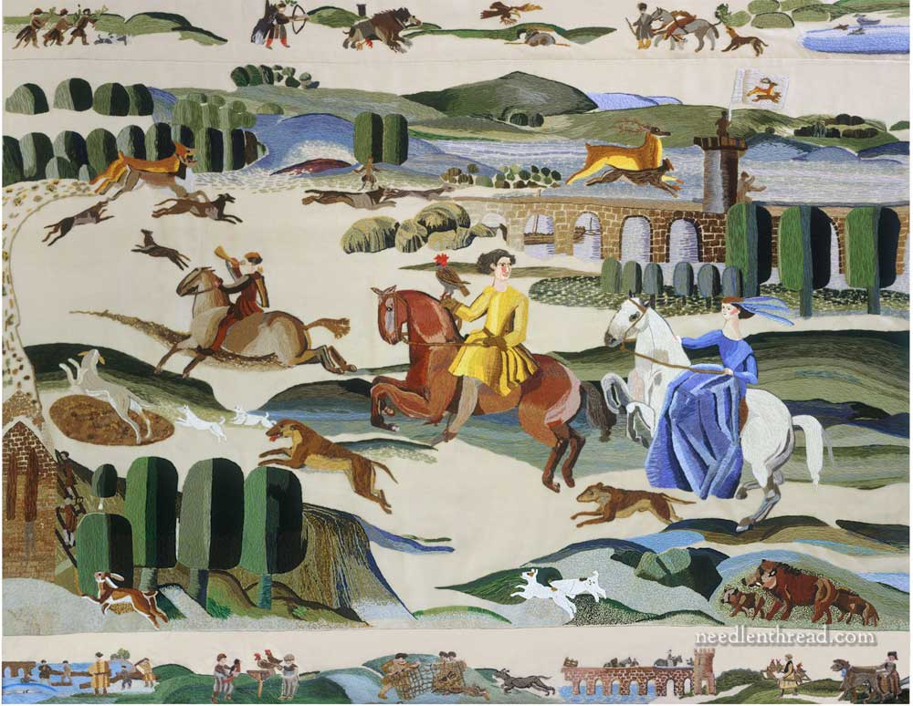 The Ros Tapestry: Hunting in the Forest of Ros