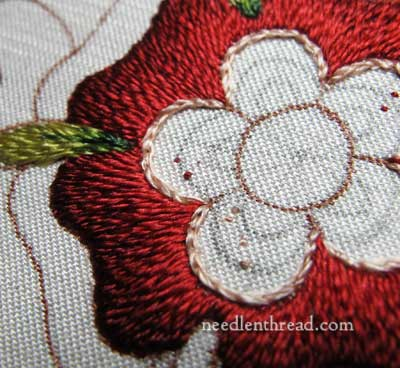 Mission Rose Silk Embroidery Project