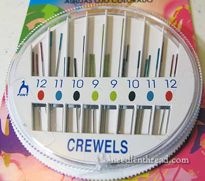 Pony Colored-Eye Needles